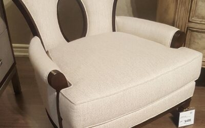 Heritage Home Lounge Chair (SKU 125817)
