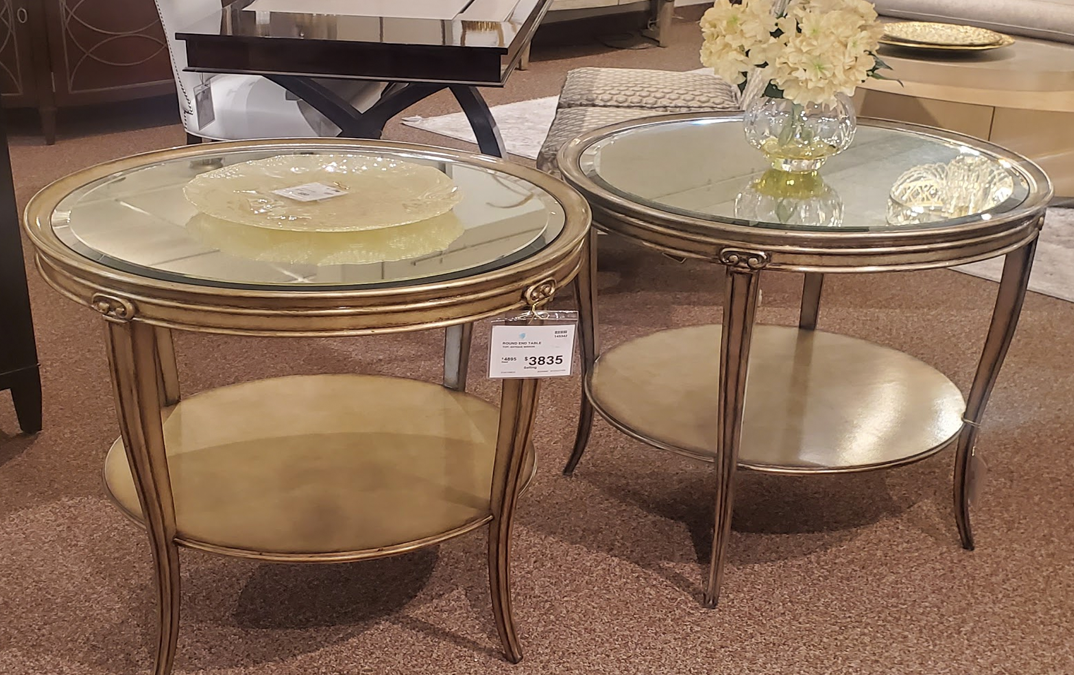Marge Carson Round End Tables (145342)